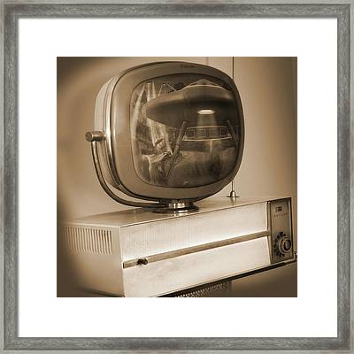 Philco Television  Framed Print by Mike McGlothlen