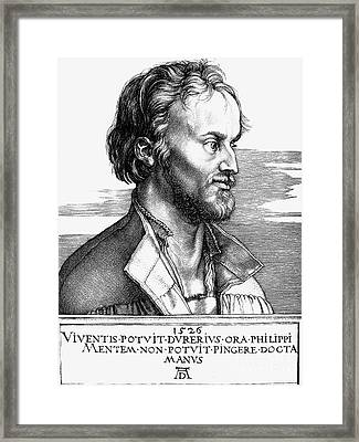 Philipp Melanchthon Framed Print by Granger