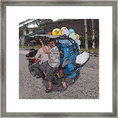 Philippines 2762 Party Supplies Framed Print