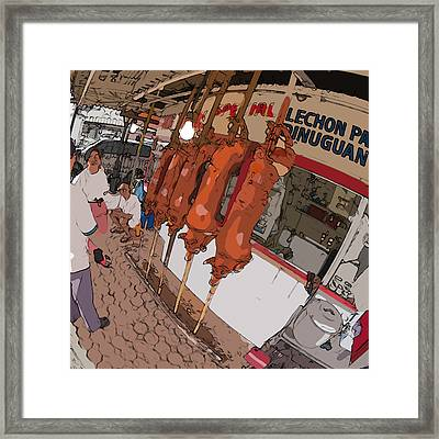 Philippines 4057 Lechon Framed Print