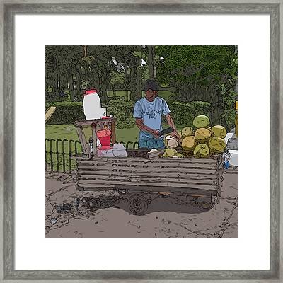 Philippines 936 Buko Framed Print