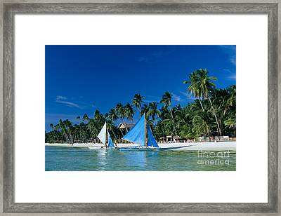 Philippines, Boracay Isla Framed Print by Gloria & Richard Maschmeyer - Printscapes