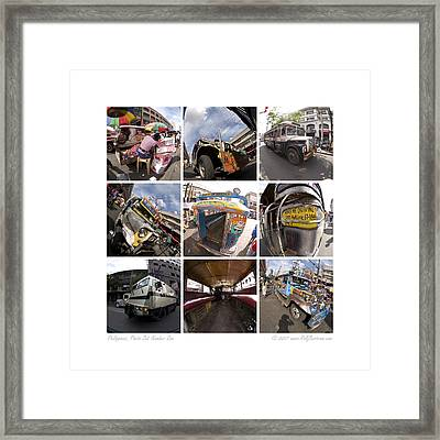 Philippines Photo Set Number One Framed Print by Rolf Bertram
