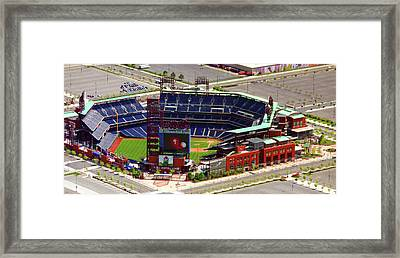 Phillies Citizens Bank Park Philadelphia Framed Print