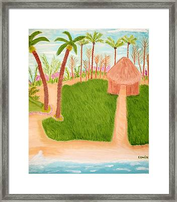 Phillipine Vacation Framed Print by Edwin Long