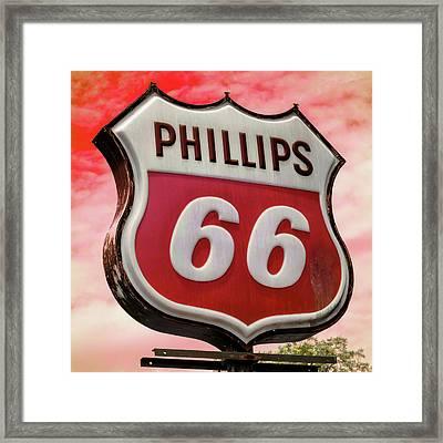Phillips 66 - 3 Framed Print by Stephen Stookey