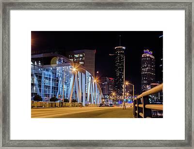 Phillips Arena Framed Print