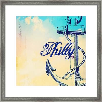 Philly Anchor 1 Framed Print