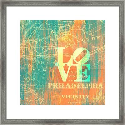 Philly Love V10 Framed Print