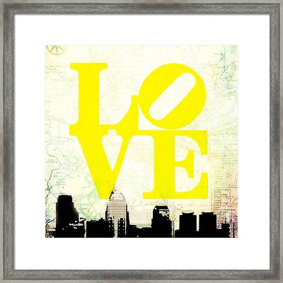 Philly Love V14 Framed Print