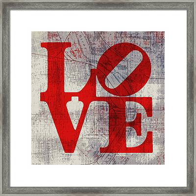 Philly Love V8 Framed Print