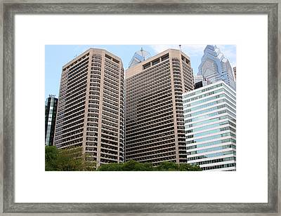 Philly  Framed Print by Paul SEQUENCE Ferguson             sequence dot net
