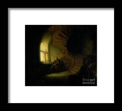 Staircase Framed Prints