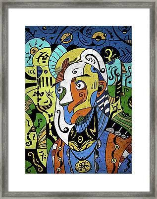 Philosopher Framed Print