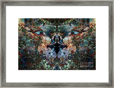 Philosophical Feline Framed Print by Warren Sarle