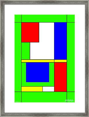 Philosophy Of Life II Framed Print by Asbjorn Lonvig
