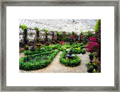 Phipps Conservatory Framed Print