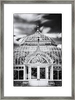 Phipps Conservatory II Framed Print