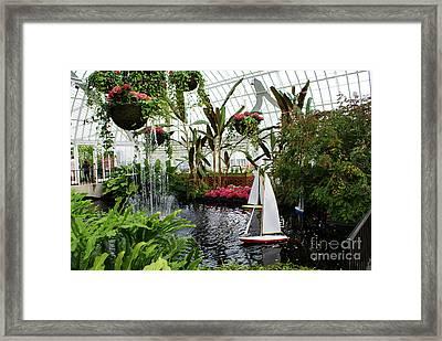 Phipps Conservatory No. 1 Framed Print