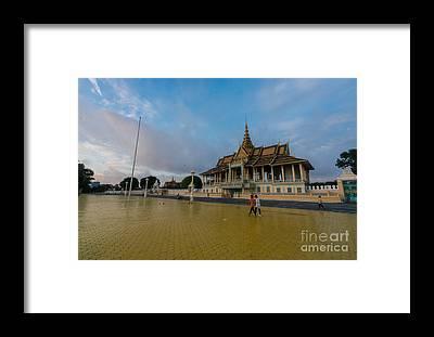 Phnom Penh Framed Prints