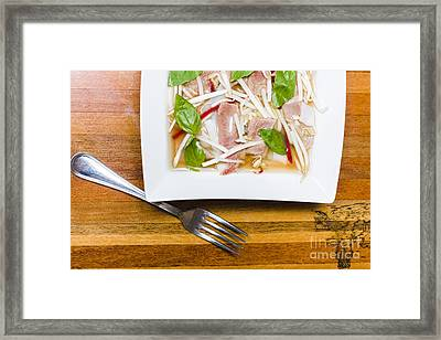 Pho Lao Style Noodle Soup Framed Print by Jorgo Photography - Wall Art Gallery