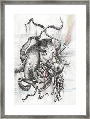 Phobia Fare Framed Print by Tai Taeoalii