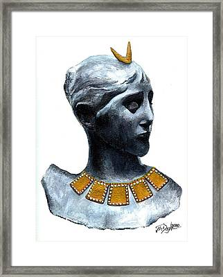 Phoenician Beauty Framed Print
