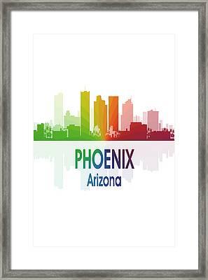 Phoenix Az 1 Vertical  Framed Print by Angelina Vick