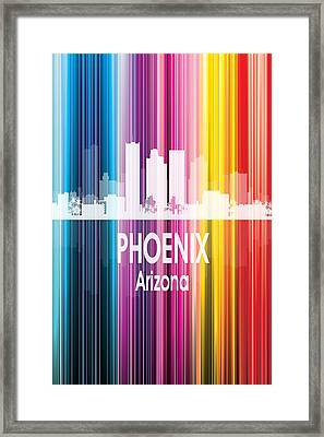 Phoenix Az 2 Vertical Framed Print by Angelina Vick