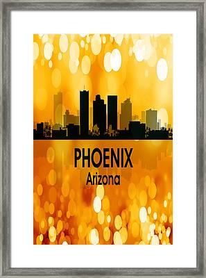 Phoenix Az 3 Vertical Framed Print by Angelina Vick
