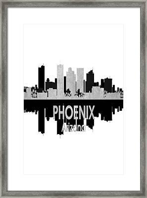 Phoenix Az 4 Vertical Framed Print by Angelina Vick