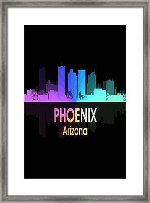 Phoenix Az 5 Vertical Framed Print by Angelina Vick