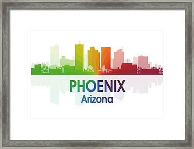 Phoenix Az  Framed Print by Angelina Vick