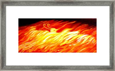 Phoenix Framed Print by Barbara Stirrup
