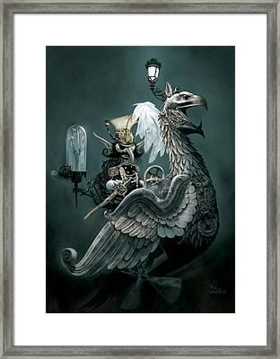 Phoenix Goblineer Framed Print by Paul Davidson