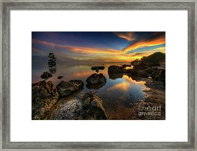 Framed Print featuring the photograph Phoenix Nights 4.0 by Yhun Suarez