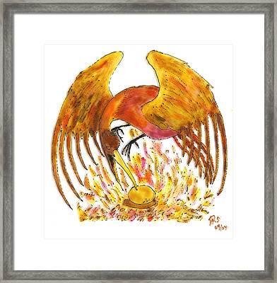 Phoenix Framed Print by Phil Strang