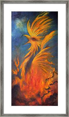 Phoenix Rising 1 Framed Print