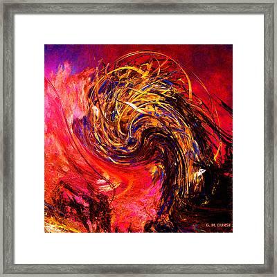 Phoenix Rising 2048 Framed Print by Michael Durst