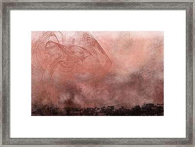 Phoenix Rising Framed Print by Christopher Gaston