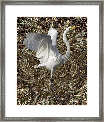Phoenix Rising Framed Print by Chuck Brittenham