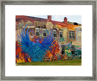 Framed Print featuring the photograph Phoenix Rising by Peter Skiba