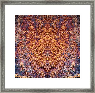 Phoenix Rising Framed Print by Tim Gainey