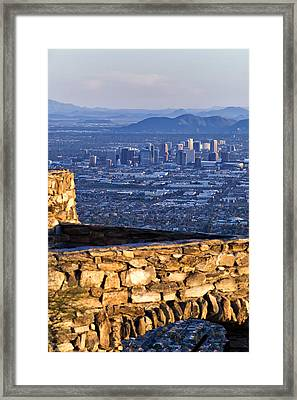 Phoenix Sunrise Framed Print