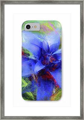Phone Case 2 Framed Print by Mona Stut