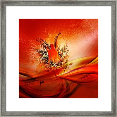 Phoneix Framed Print by Christopher Crawford
