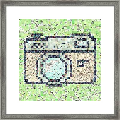 Photo Camera Framed Print