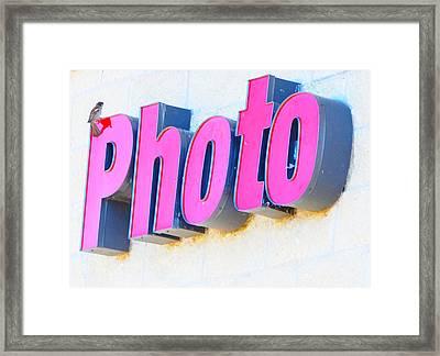 Photo Framed Print by Leon Hollins III