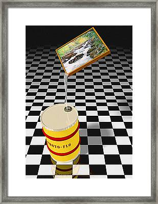 Photoflo Framed Print by Peter J Sucy