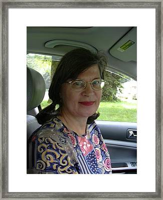 Photograph Of Betty Pieper Framed Print